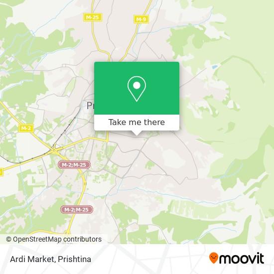 Ardi Market map