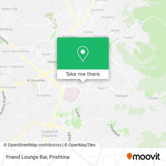 Friend Lounge Bar map