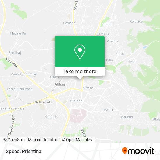 Speed map