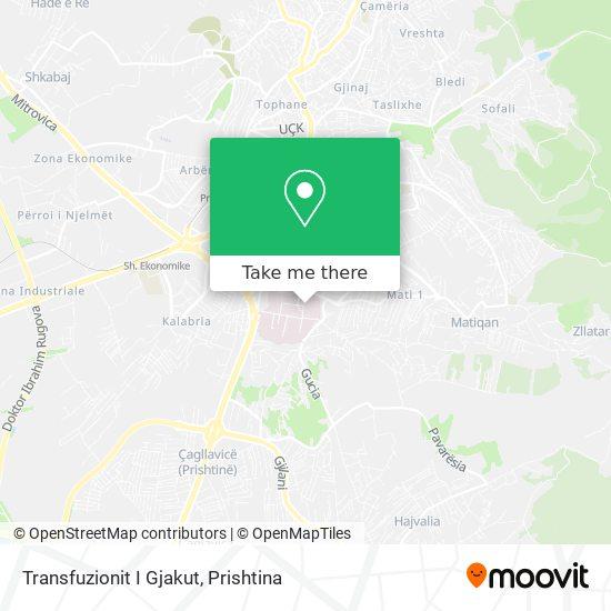 Transfuzionit I Gjakut map