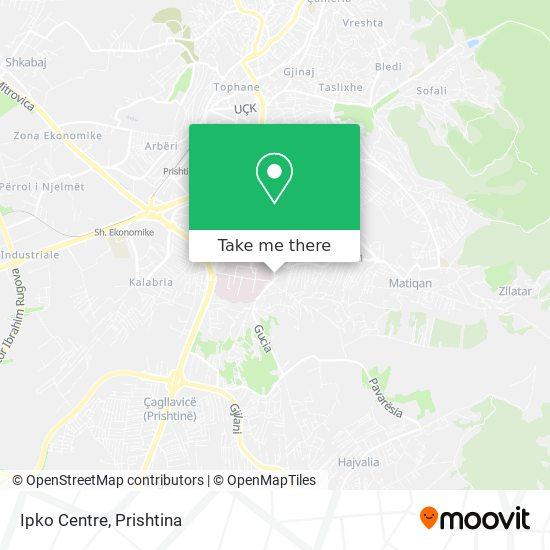 Ipko Centre map