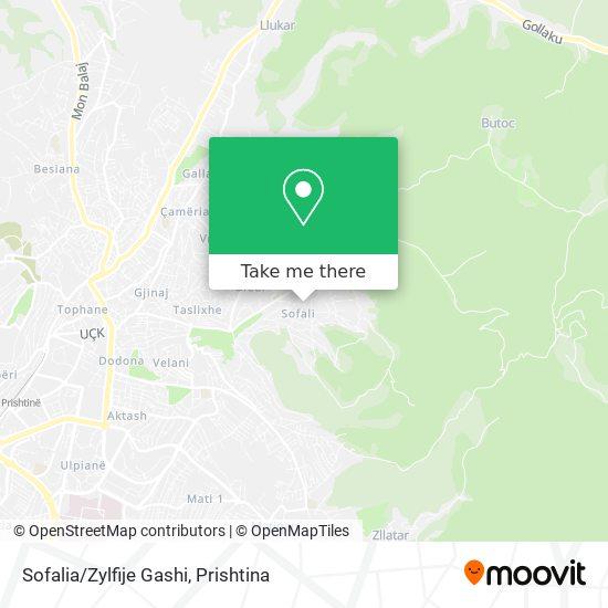 Sofalia/Zylfije Gashi map
