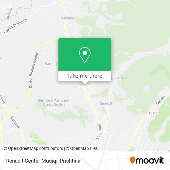 Renault Center Muqiqi map
