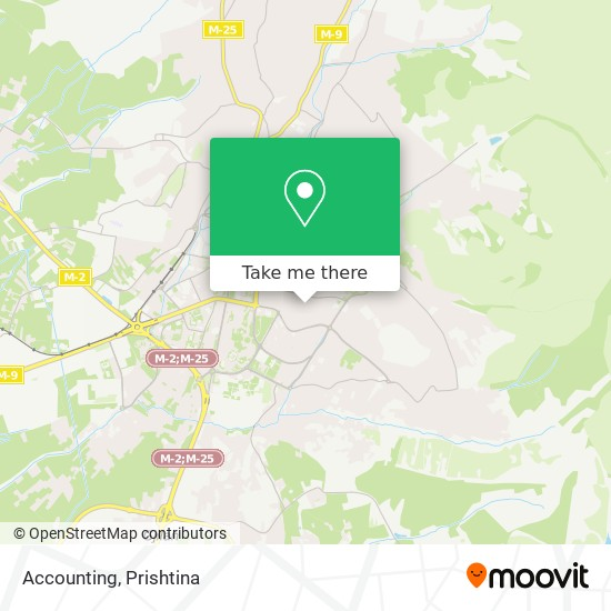 Accounting map