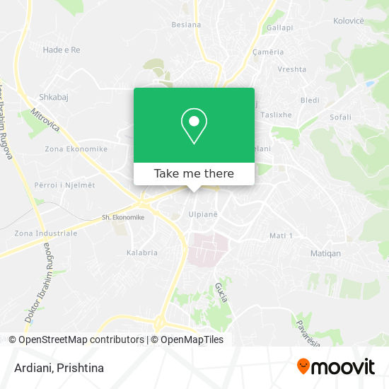 Ardiani map