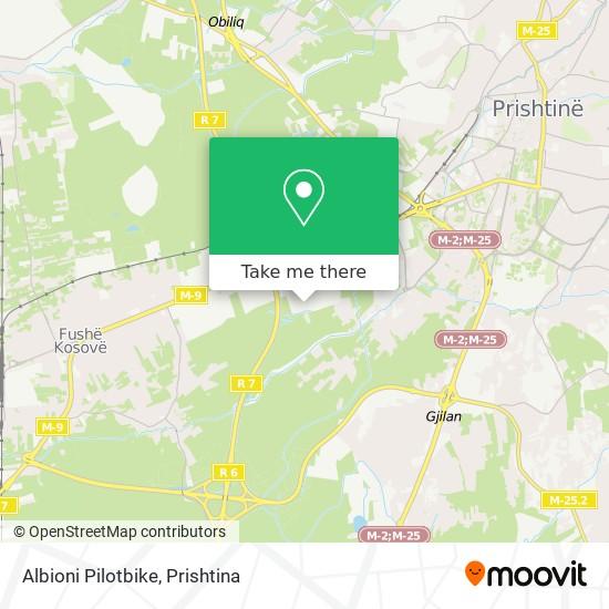 Albioni Pilotbike map