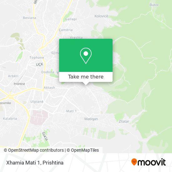 Xhamia Mati 1 map