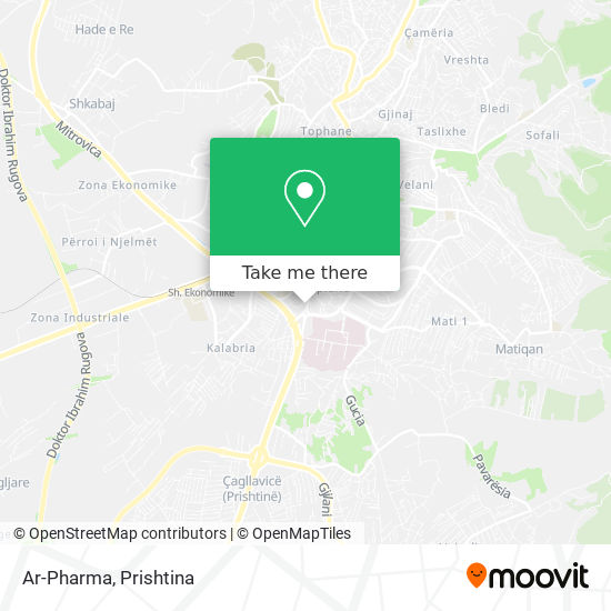 Ar-Pharma map
