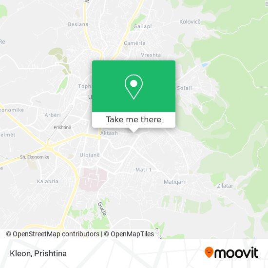 Kleon map