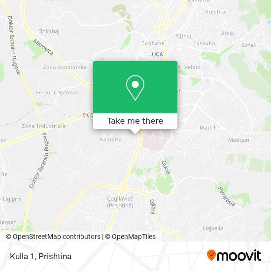 Kulla 1 map
