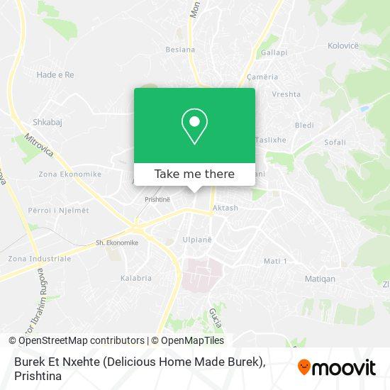Burek Et Nxehte (Delicious Home Made Burek) map