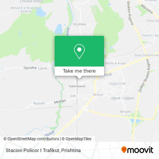 Stacion Policor I Trafikut map
