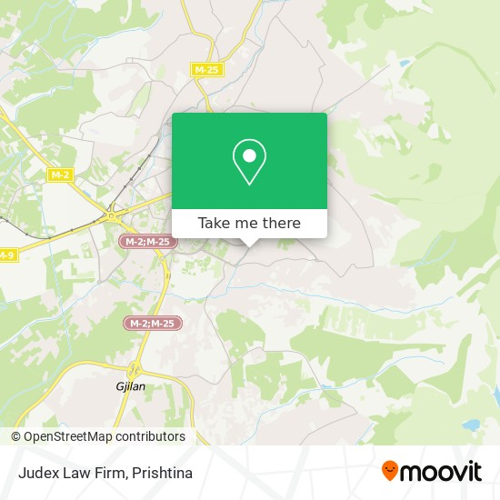 Judex Law Firm map