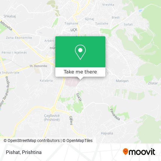 Pishat map