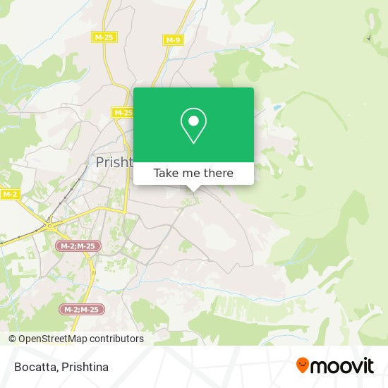 Bocatta map