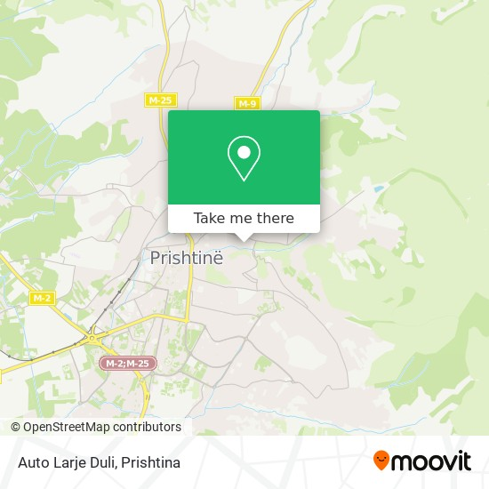 Auto Larje Duli map