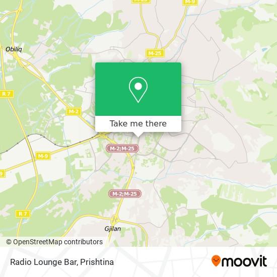 Radio Lounge Bar map