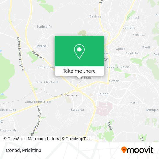 Conad map