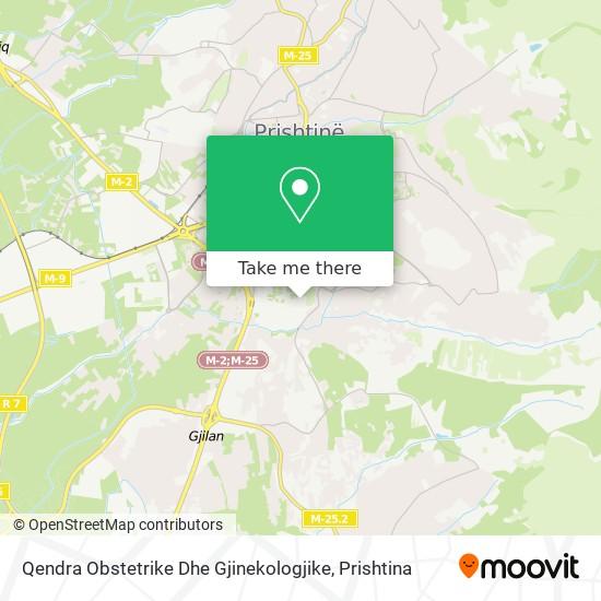 Qendra Obstetrike Dhe Gjinekologjike map