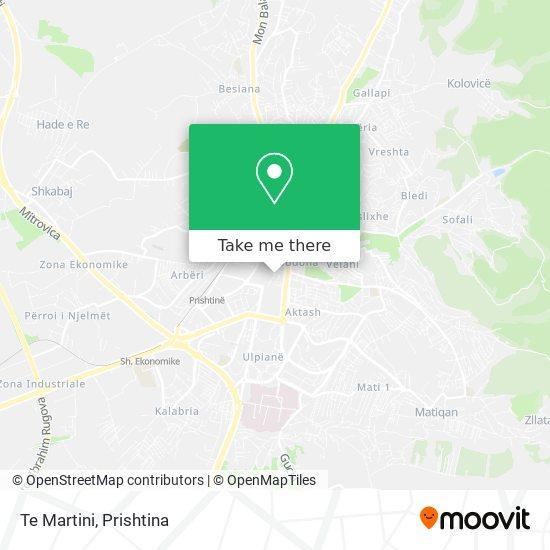 Te Martini map