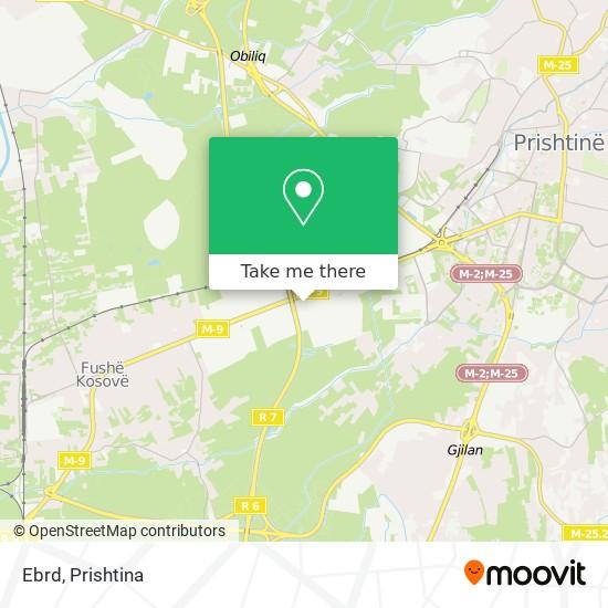 Ebrd map