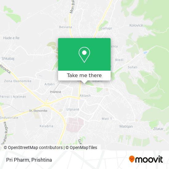 Pri Pharm map