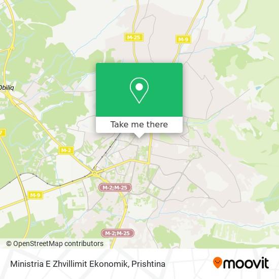 Ministria E Zhvillimit Ekonomik map