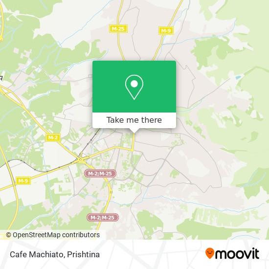 Cafe Machiato map