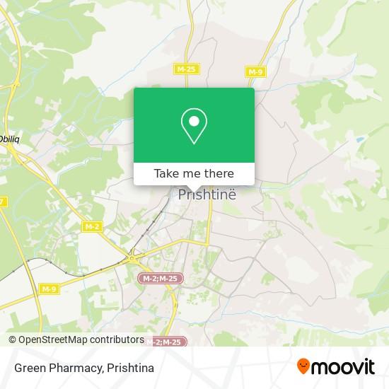 Green Pharmacy map