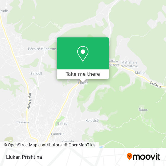 Llukar map
