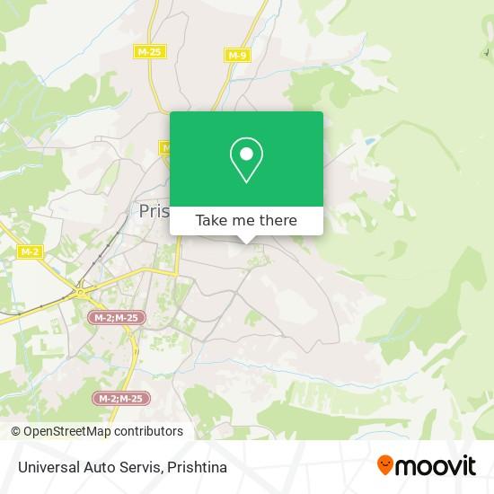 Universal Auto Servis map