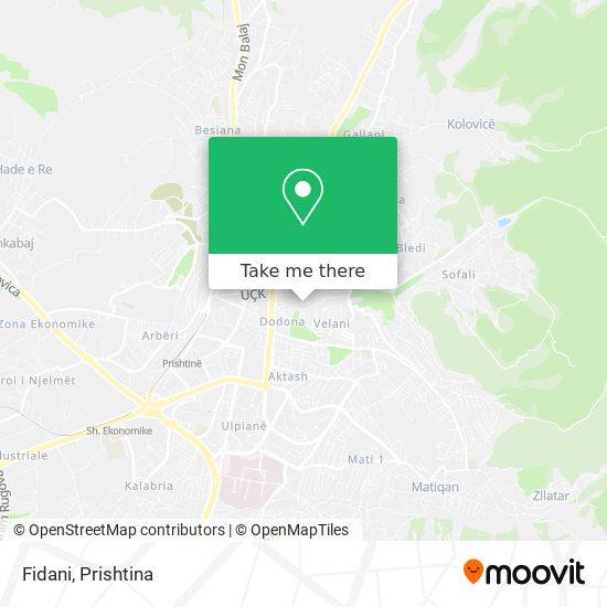 Fidani map