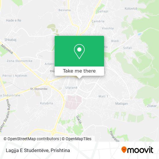 Lagjja E Studentëve map