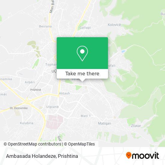 Ambasada Holandeze map