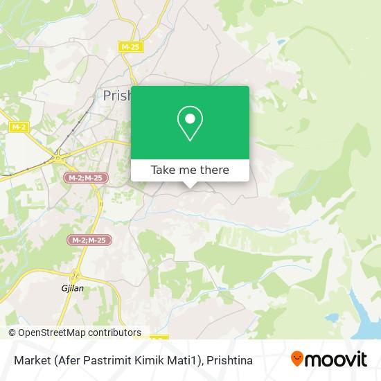 Market (Afer Pastrimit Kimik Mati1) map