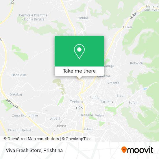 Viva Fresh Store map