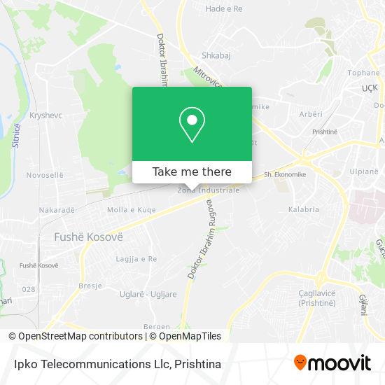 Ipko Telecommunications Llc map