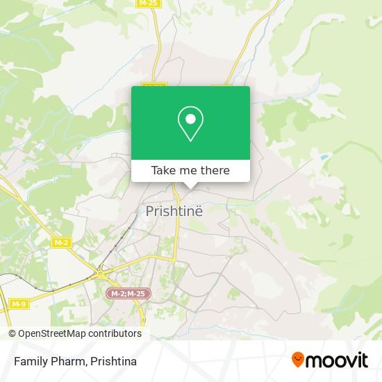 Family Pharm map