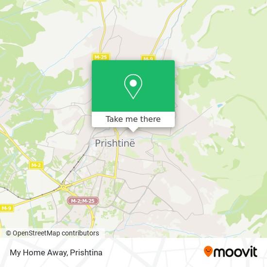 My Home Away map