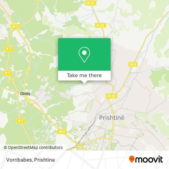 Vorribabes map