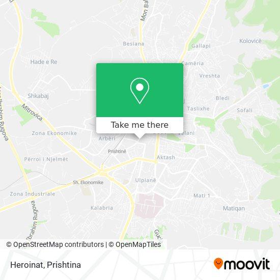 Heroinat map