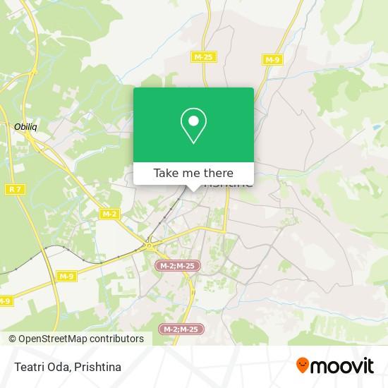Teatri Oda map