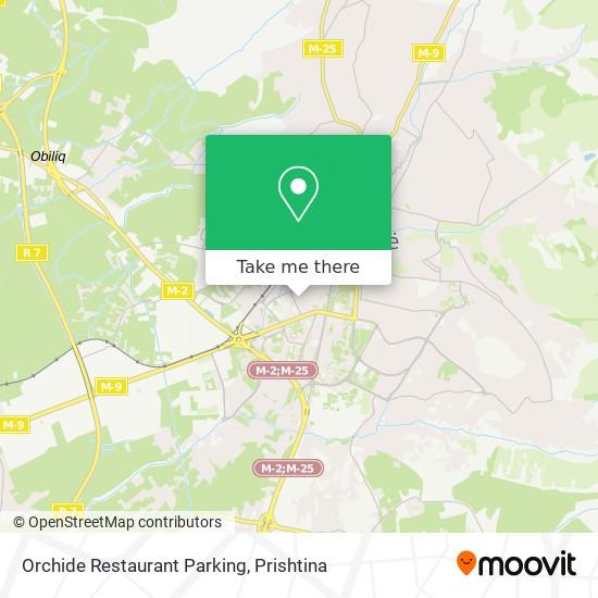 Orchide Restaurant Parking map