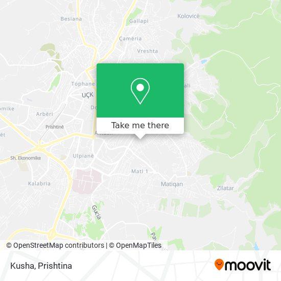 Kusha map