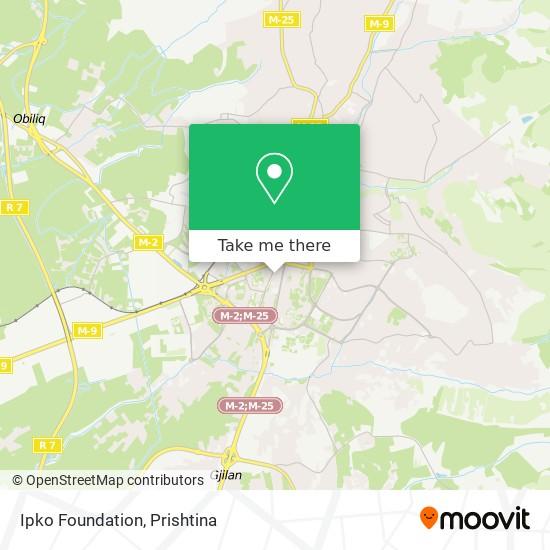 Ipko Foundation map