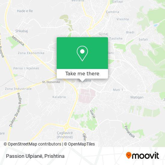 Passion Ulpianë map