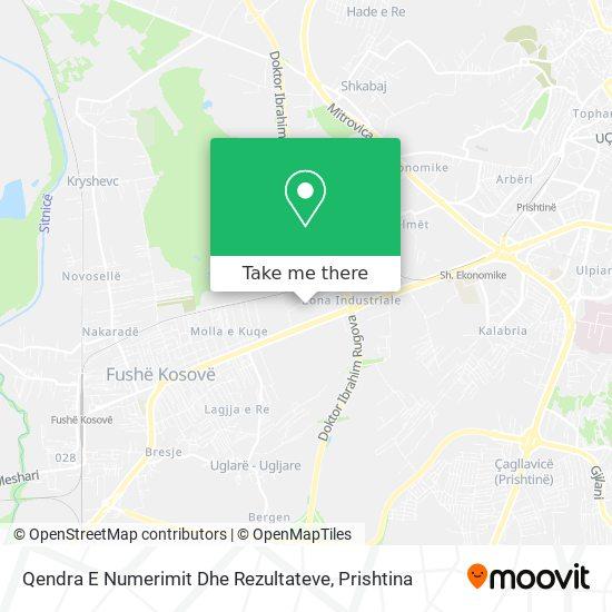 Qendra E Numerimit Dhe Rezultateve map