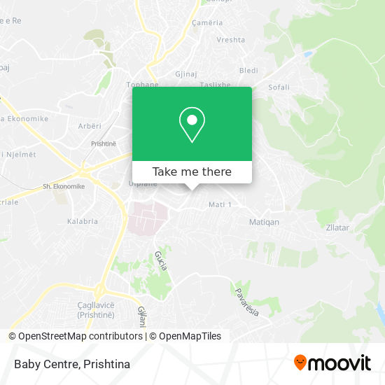 Baby Centre map