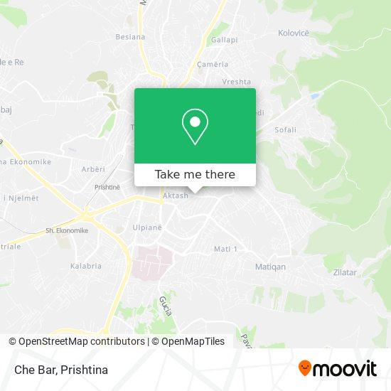 Che Bar map