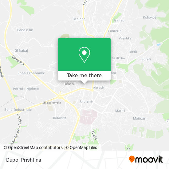 Dupo map